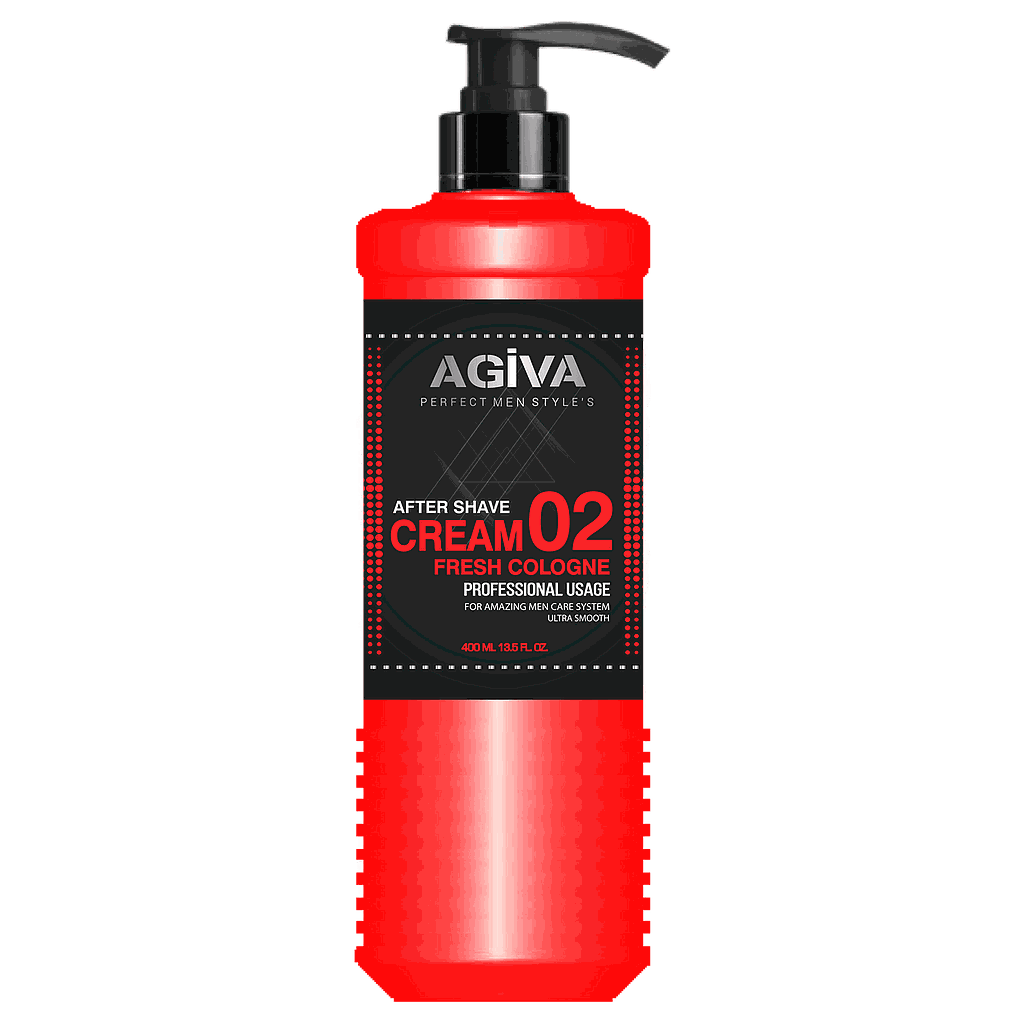 Agiva After Shave Cream Fresh Cologne 02 (400ml)