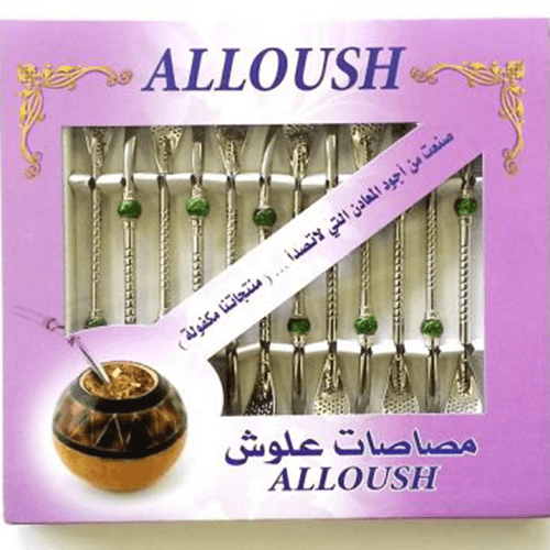 Bombilla Alloush für Mate Tee (1 Stk.)